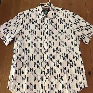 Robert Graham short sleeve dress shirt